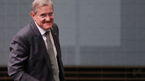 Switched parties: Ian Macfarlane in the House of Representatives this week.