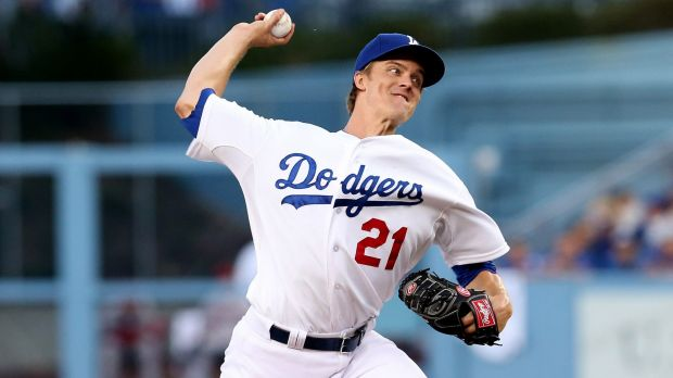 On the move: The Dodgers may have secured a replacement for Zack Greinke.