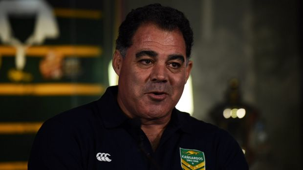 Time for a chat: New Kangaroos coach Mal Meninga plans to meet with Paul Gallen.