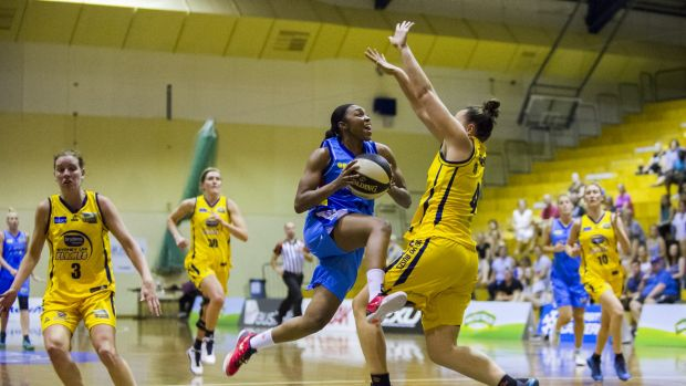 The Canberra Capitals will play home games at Belconnen in the New Year.