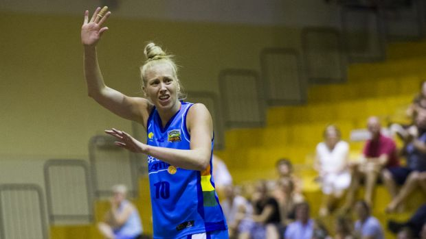 Abby Bishop has been a star in the WNBL.