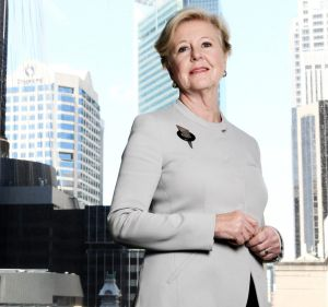 Daily Life's outgoing Woman of the Year, Gillian Triggs.