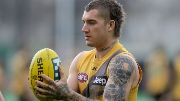 Incident: Dustin Martin was found to have breached the players' code of conduct.