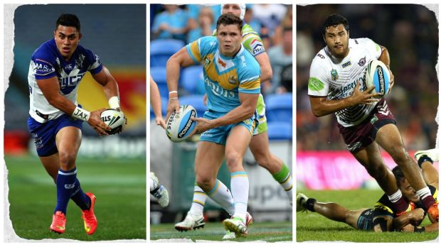 Central to the off-season player market: Tim Lafai, James Roberts and Peta Hiku.