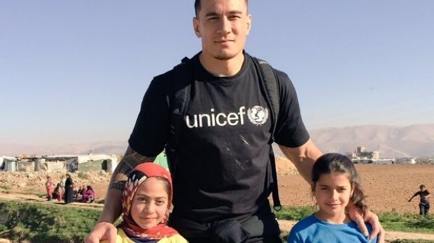 Sonny Bill Williams in Faida-Bekaa.
