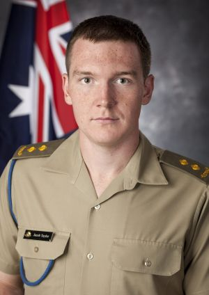 University medallist Jacob Taylor completed a Bachelor of Information Technology and is also a serious runner.
