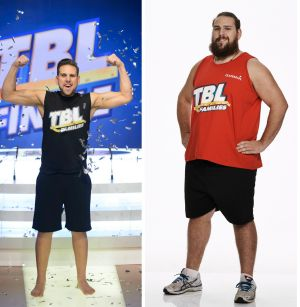 Before and after: Daniel Jofre.