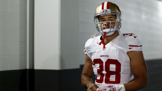Out in the cold: Jarryd Hayne hasn't played since week six of the season.