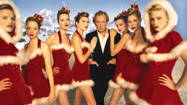 Bill Nighy's rendition of <i>Christmas Is All Around</i> is a highlight of <em>Love Actually</em>.