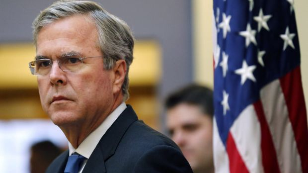 "Republican candidate Jeb Bush called Trump's remarks ""unhinged"", but other party figures have been more circumspect."