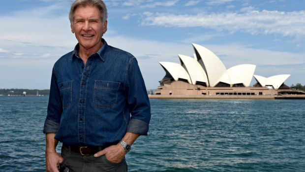 """Harrison Ford: """"Shocked and saddened"""" by his former co-star's heart attack."""