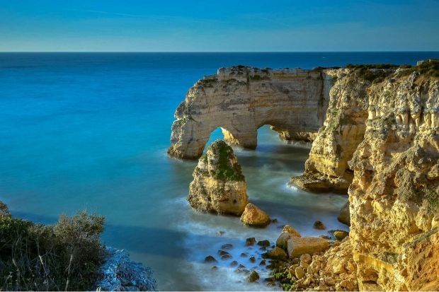 The cliffs of the Algarve