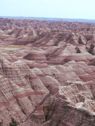 The Badlands are a once in a lifetime experience.