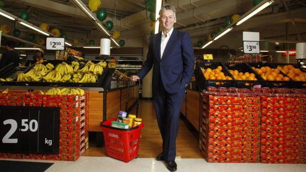 Coles managing director John Durkan.