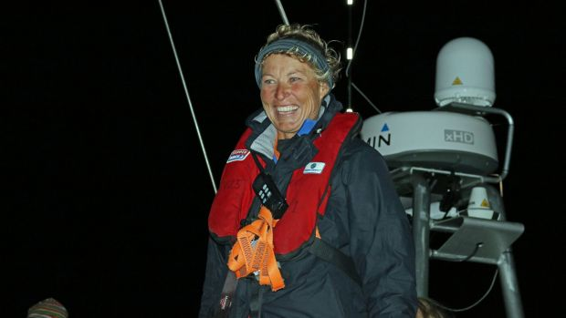 Sydney skipper Wendy Tuck will be heading into Sydney for two weeks then setting sail again on December 26.