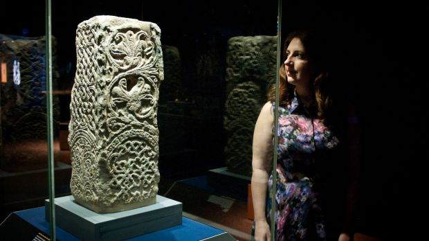 British Museum curator of Late Medieval Europe Naomi Speakman at the Queensland Museum.