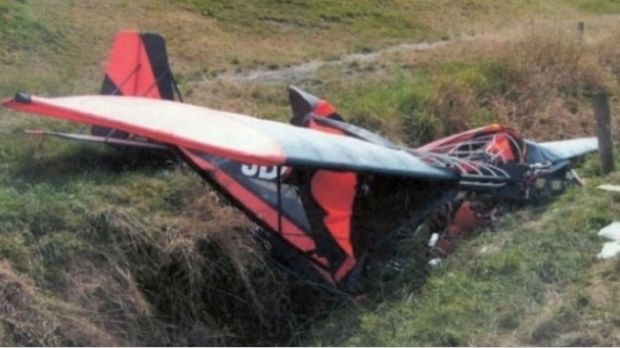 Michael Pook spent a long time waiting for help when the microlight he was passenger in crashed near Gordonton, ...