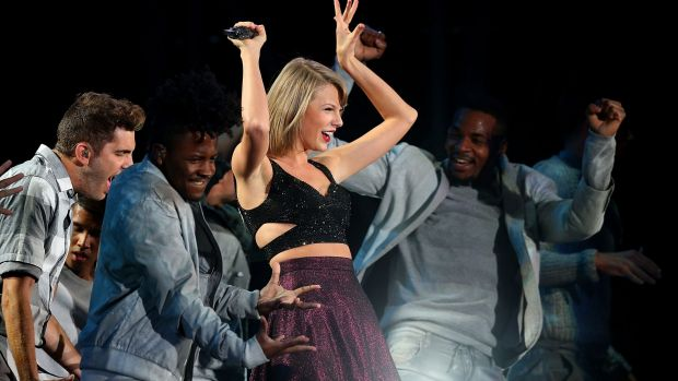 Taylor Swift, performing during her 1989 World Tour in Melbourne in December 2015, has a New Year gift for fans with a ...