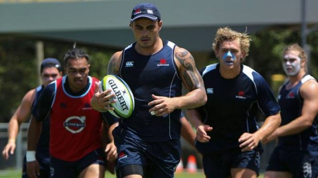 Named: Former All Black Zac Guildford will play for NSW against Queensland.