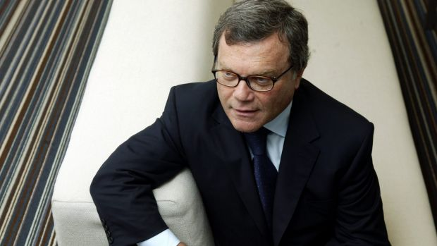 Martin Sorrell of WPP Group, which is taking a 61 per cent stake in Australian-listed STW Communications.
