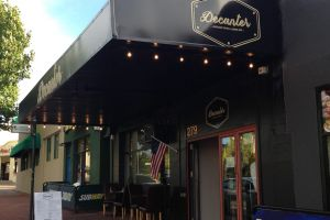American-style small bar Decanter opened a few months ago on the Victoria Park cafe strip.