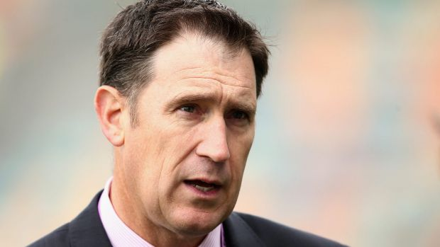 Food and thought: James Sutherland dined with Windies luminaries at Me Wah, in Hobart's Sandy Bay.