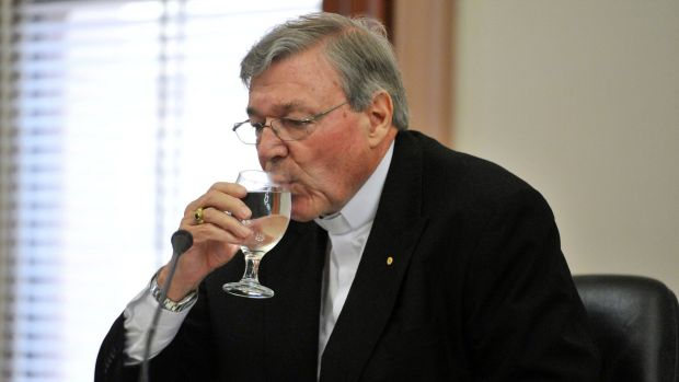 """""""Ashen and grey over testifying"""": Cardinal George Pell's appearance at the royal commission has been deferred until February."""