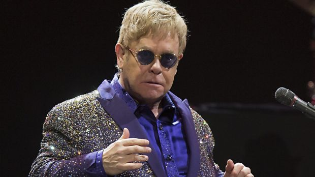 """Elton John is being sued by his ex-bodyguard for """"sexual harassment""""."""