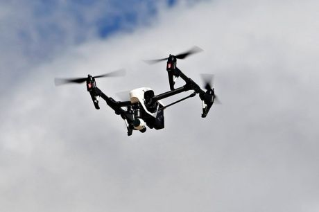 Drones could be used to inflict damage on cities, a defence expert has warned.