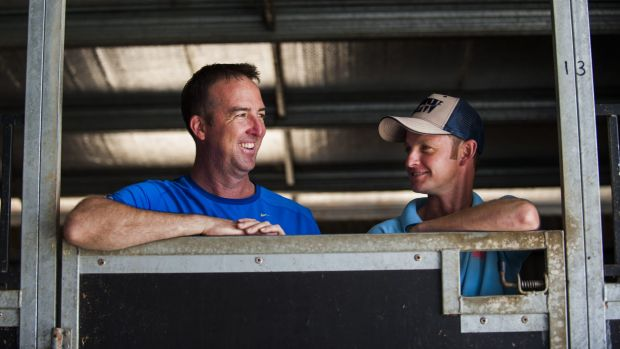 Canberra trainer Nick Olive and jockey Richard Bensley are looking for their 100th win together at Canberra on Sunday.