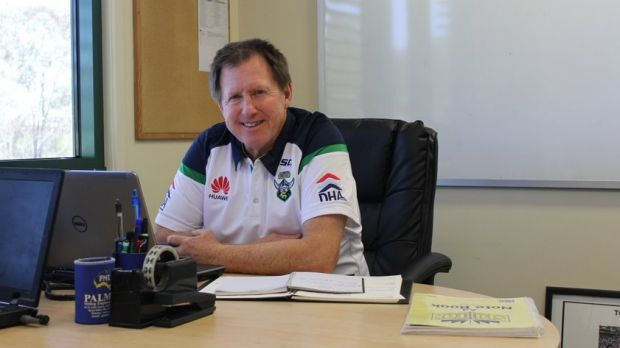 Raiders recruitment manager Peter Mulholland.