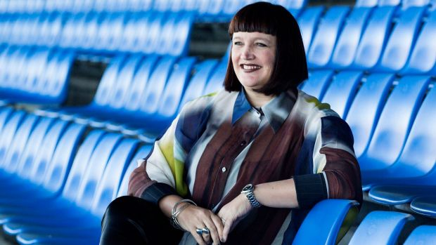 Outside chance: Outgoing Bulldogs chief executive Raelene Castle may be a candidate for the role of ARU chief.