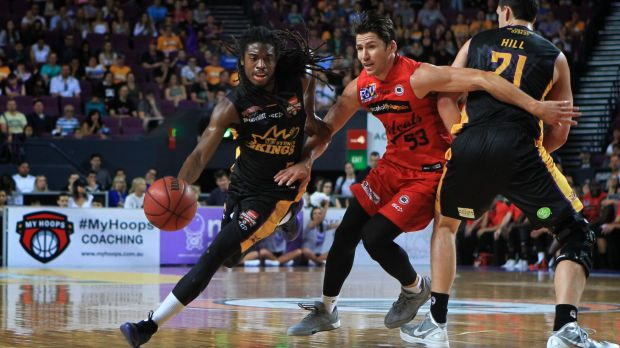 End of an era: The Sydney Kings lost to the Perth Wildcats in the final game at the Kingdome.