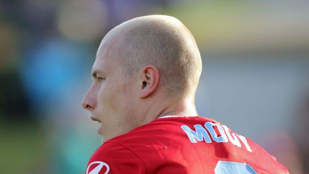 He's back: Melbourne City star Aaron Mooy.