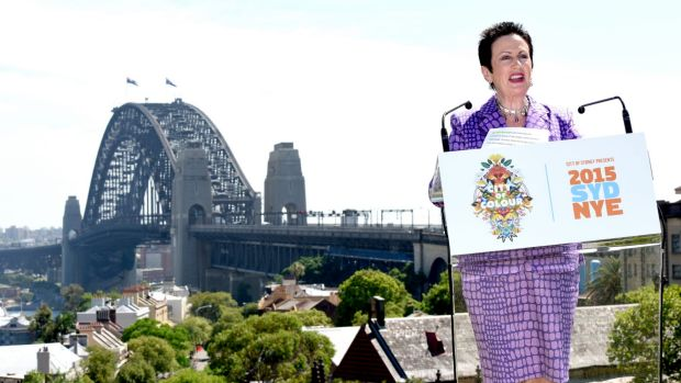 """""""The city is powering as never before"""": Lord mayor Clover Moore."""