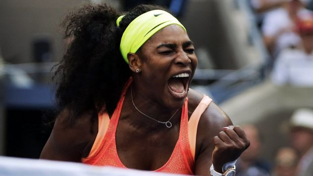 Serena Williams said she would complete the run next year.