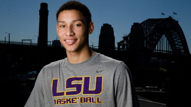 On the cusp of the big time: Ben Simmons.