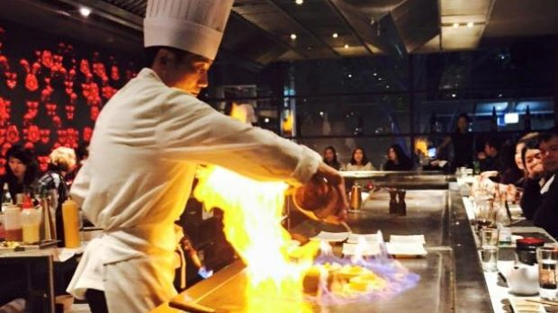 Teppanyaki restaurants allow diners to sit around an open hot plate, as a chef prepares and cooks meals in front of them.