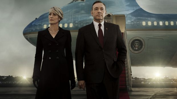 What's next for Netflix? Robin Wright and Kevin Spacey as Carrie and Frank Underwood in Netflix's break-out program, ...
