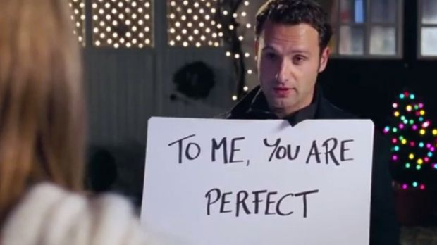 <i>Love Actually's</i> most famous scene.