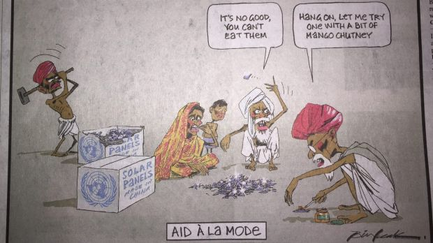 The Bill Leak cartoon from The Australian on December 14 which has attracted controversy.
