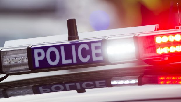 A male motorcyclist has died and two injured in a crash at Koo Wee Rup in south-east of Melbourne.