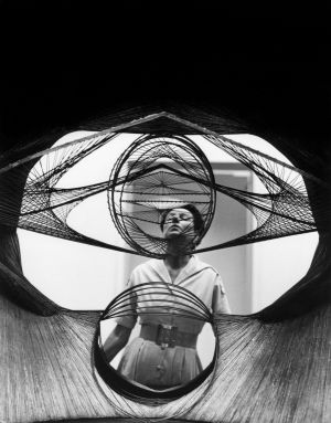 Peggy Guggenheim was an avid collector of abstract expressionist and modern art.
