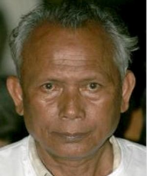 Torture claims: Meas Muth, once the Khmer Rouge navy chief.