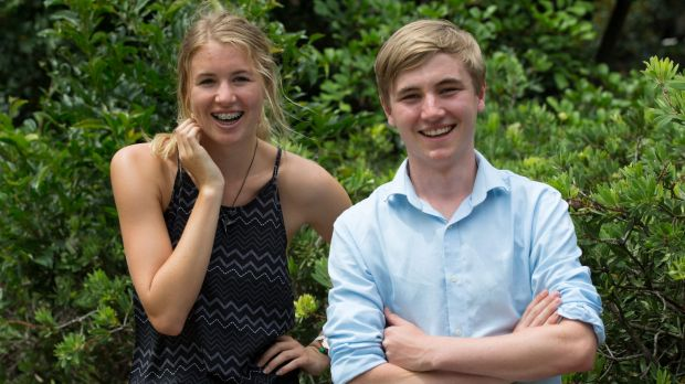 Sophia Berlyn came first in Music and Luke Glendenning came first in Environmental Science.