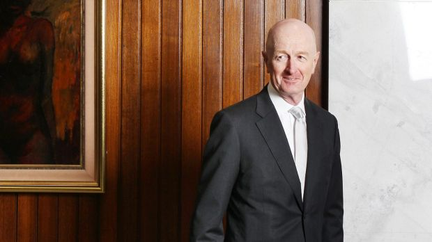 RBA Governor Glenn Stevens pointed out that no economy grows indefinitely as fast as China's has.