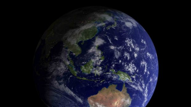 Man – through global warming and the melting of ice – has shifted the spin axis of our planet.