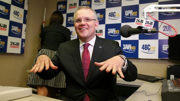 Scott Morrison is hoping people aren't too hung up on JOe Hockey's surplus rhetoric.