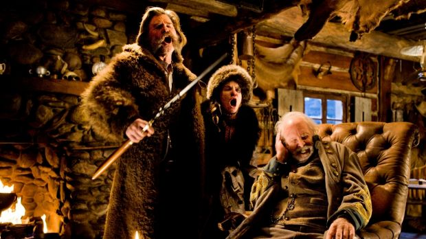 Quentin Tarantino returns with <i>The Hateful Eight.</i>