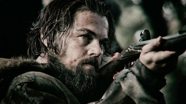 Leonardo DiCaprio in <I>The Revenant</i>.